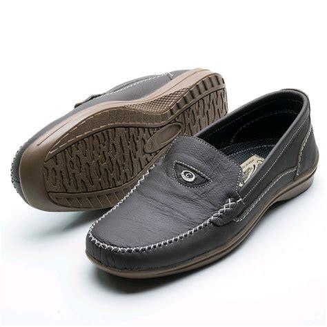 Jual Sepatu Santai Pria jual sepatu kulit pria model santai 100 kulit asli cd 08