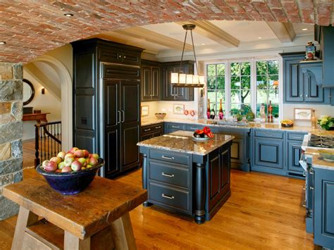 hgtv kitchen cabinet ideas amazing of gallery of blue rustic photos hgtv rustic colo 4183