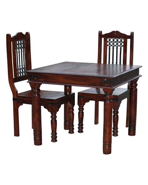 2 chair table set takhat square dining table with 2 chairs set homescapes