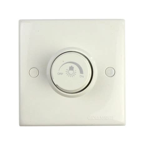 fashion rotating triac led dimmer switch wall socket for