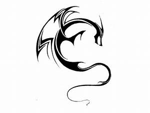 simple_dragon_with_curved_body_tattoo_drawing.jpg 1,024 ...