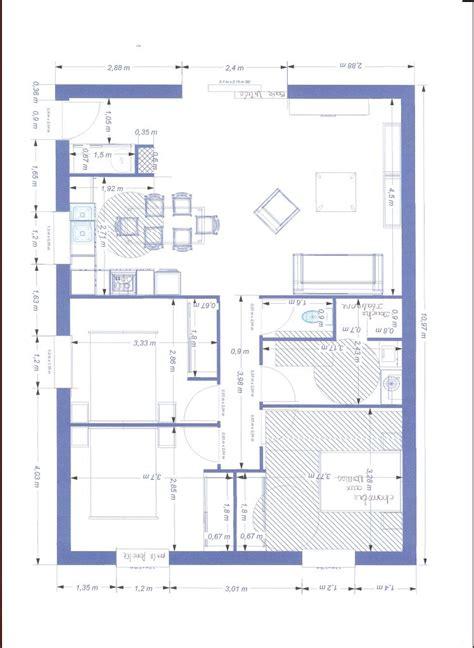 chambre d hote accessible handicapé plan de maison norme handicape