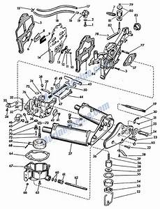 Evinrude Carbutetor Parts For 1957 5 5hp 5514 Outboard Motor