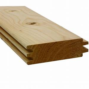 Poteau Bois Rond 3m : madrier chalet double embo tement douglas naturel 45x135mm ~ Voncanada.com Idées de Décoration