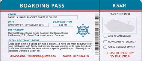boarding pass  sided  photo background custom