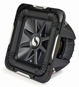 Kicker Car Stereo 12 U0026quot  Sub Package S12l7 Dual 2 Ohm