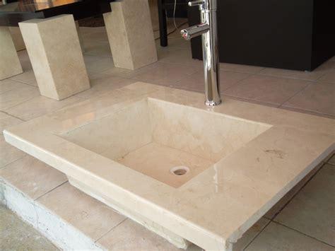 lavabo de marmol crema marfil  en mercado libre