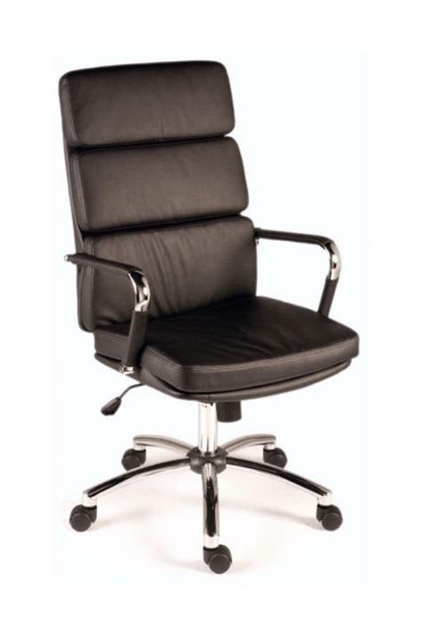 deco retro style office chair black decobk