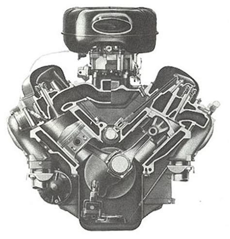 Big Block Chevy Engine Diagram by The W 348 Engine Of A Line Of Big Block