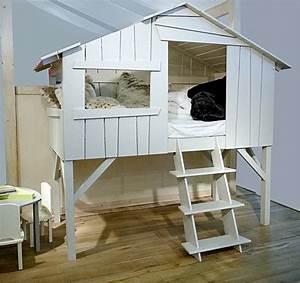 Construire Un Lit Cabane : un lit cabane galerie photos d 39 article 10 12 ~ Melissatoandfro.com Idées de Décoration