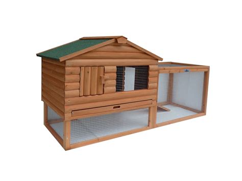 pet rabbit hutch confidence pet 62 rabbit hutch bunny guinea pig cage pen