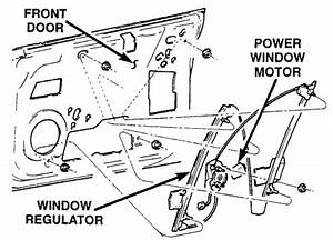 Dodge Neon Window Regulator Diagram