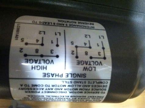 baldor motor furnas  wiring