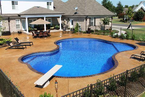 cost of custom pool tulsa custom pools vinyl and fiberglass pools custom swimming pool services