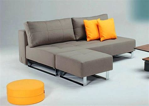 canape d angle convertible lit supremax deluxe taupe avec pouf excess 200 152cm