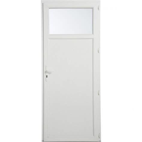porte de service avec occulus 1 vantail gamme epure ouvrant 224 la fran 231 aise