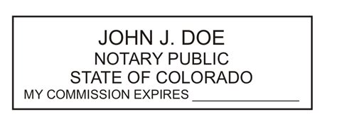 As this question comes up often and with so much misleading information. Colorado Notary Slim Stamp Colorado notary slim stamp - $28.15