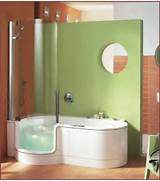The Best Walk In Shower And Bath Combinations Bathroom Corner Tub With Shower On Walk In Bathtub Bathroom Design