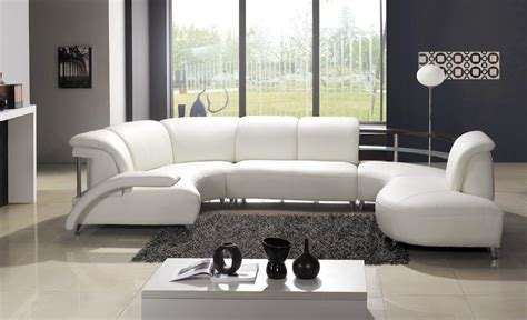White Sectional Living Room Ideas by White Leather Sofa Beautiful Design Ideas For Living Room