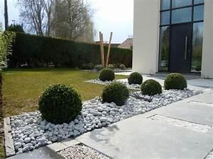 Cailloux Pour Cour : 1000 id es propos de paysage des entr es des all es sur ~ Premium-room.com Idées de Décoration