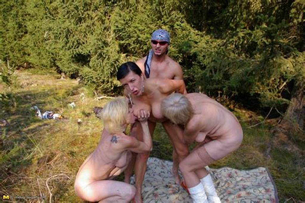 #A #Wild #Mature #Sexparty #In #The #Forest #Gets #Hot