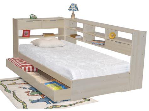 lit une place avec tiroir 201 l 233 gant lit une personne avec tiroir pas cher