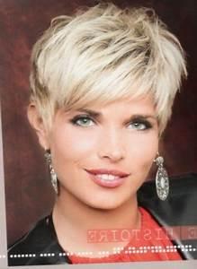 Coiffure Femme 2018 Court : coiffure courte effil e 2018 ~ Nature-et-papiers.com Idées de Décoration