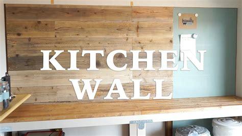 diy  making kitchen wall  youtube