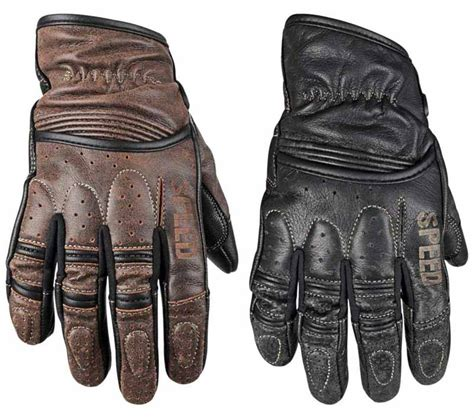 gloves motorcycle retro redemption rust strength speed