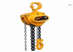 Hoist Rope Guides Moving 1 Ton Electric Chain Hoist For