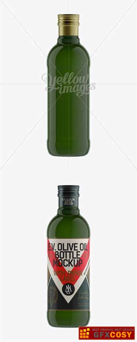 Display your design in a more efficient way on this mockup of an antique green glass bottle with olive oil. 500ml Green Glass Olive Oil Bottle Mockup 11984 » Free ...
