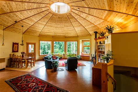yurt energy british 2300 magnolia columbia firsthand yurts interior homes round build houses building much inside living architecture circular does