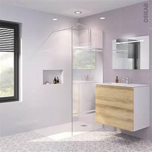 Miroir De Douche : paroi de douche l 39 italienne 90 cm verre miroir 8 mm 1 barre de fixation atlas 2 oskab ~ Nature-et-papiers.com Idées de Décoration