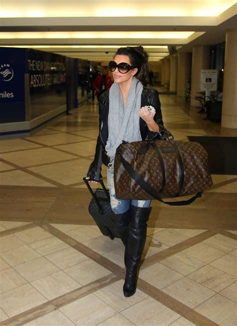 kim kardashian duffle bag kim kardashian handbags  stylebistro