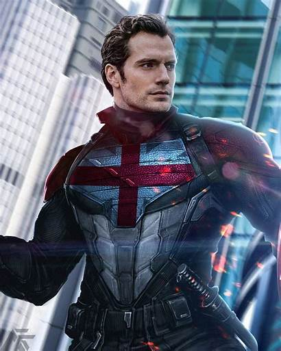 Cavill Henry Captain Britain Fan Mcu Movies