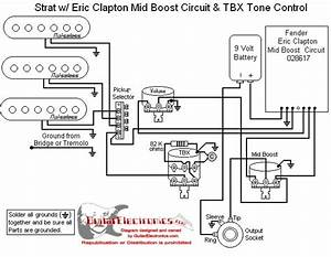 Wiring Diagram For Fender Clapton Mid Boost Kit