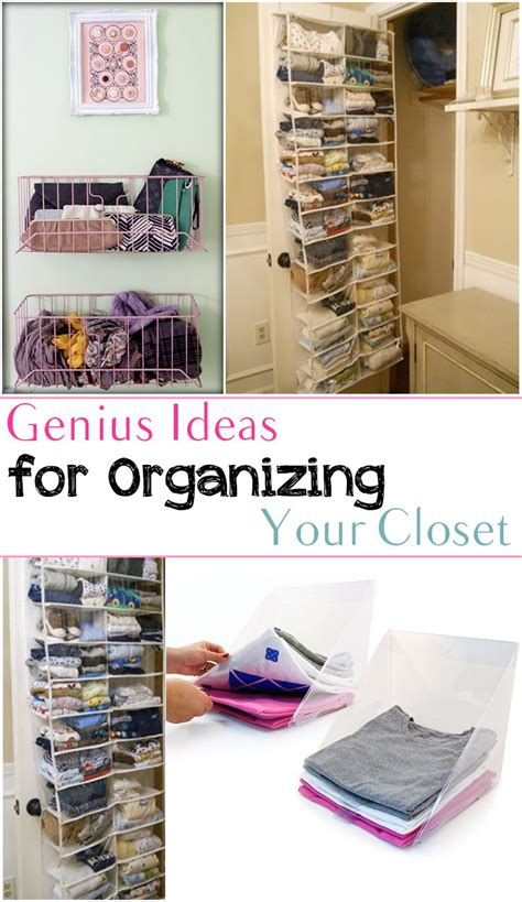 Organizing Closet Space by Genius Ideas For Organizing Your Closet Organization