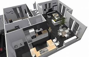 Créer Son Propre Plan De Maison Gratuit : creer sa maison en 3d beautiful extension maison projet ~ Premium-room.com Idées de Décoration