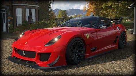 Tunes news forza horizon forza motorsport forza pc. Forza Horizon 4 - 2012 Ferrari 599XX Evolution - YouTube