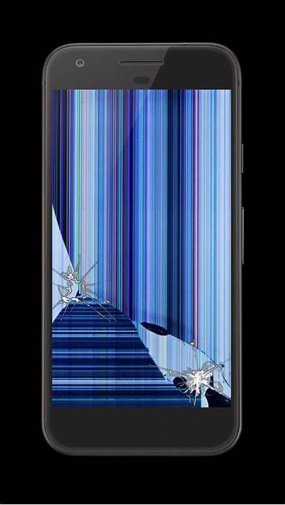 Prank Screen Cracked Broken Phone Tablet Realistic