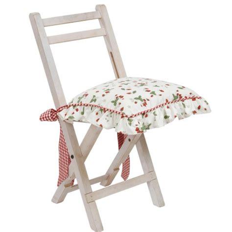 galettes de chaise galette chaise coton fraises
