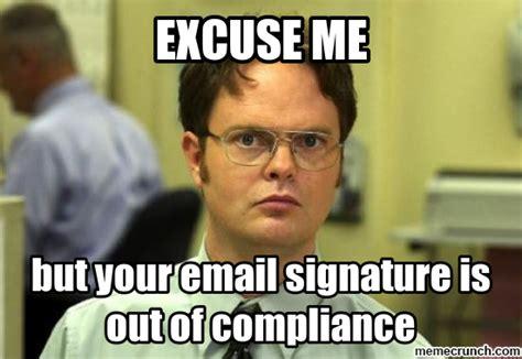 Meme Email - email signature