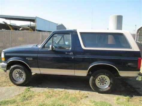 buy   ford bronco eddie bauer  arnold