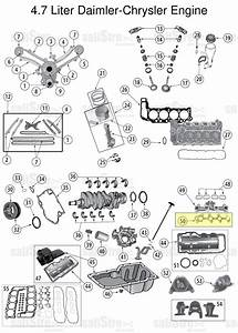 Exhaust Manifold Gasket Jeep Grand Cherokee Wk  Wh 2005