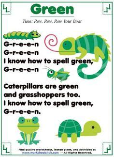 colors and shapes lyrics printable five ducks song sheet preschool