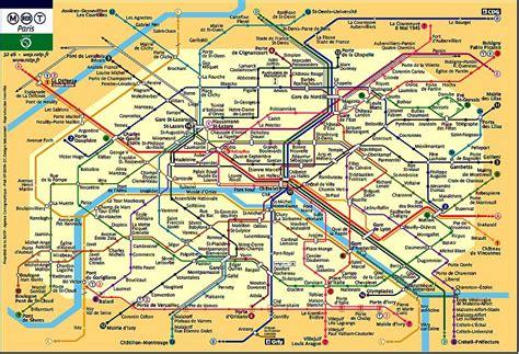 Carte Metro Rer by Carte Metro Rer De Toutsurtoutpourtous No 235 L