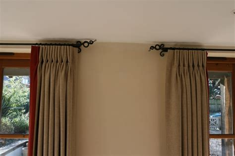 Poppy Curtain by Curtain Poles Little Duck Forge
