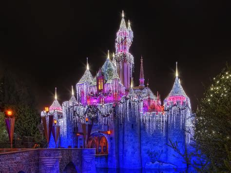 disneyland vacations disneyland fantasy christmas