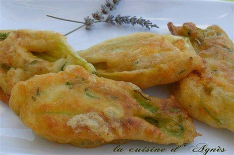 cuisiner des fleurs de courgettes beignets de fleurs de courgette la cuisine d 39 agnèsla