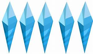 Cool Ice Crystals (Vector) by HumanoSiniestro on DeviantArt